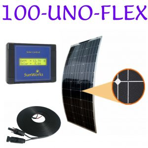 solar panel kit for motorhomes
