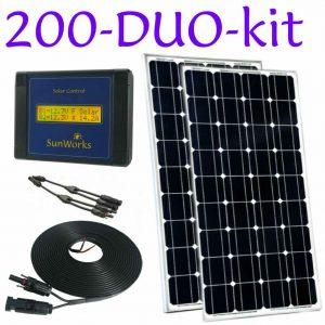 Kits de panneaux solaires à châssis rigide