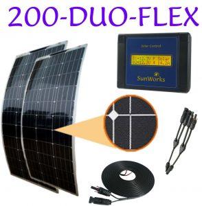 kits de panneaux solaires pour camping-cars
