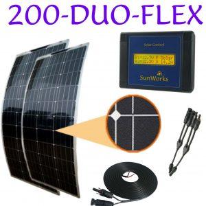 Kits de Panneaux Solaire: Semi-flexible