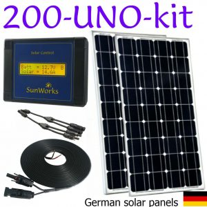 solar panel kits for boats