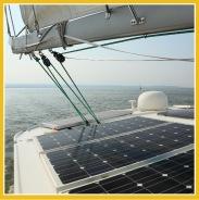 Energie solaire pour bateaux