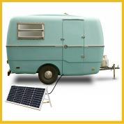 Energie solaire pour caravanes