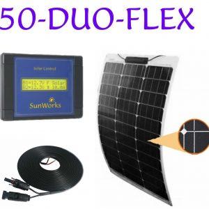 kits de panneaux solaires semi-flexibles pour bateaux