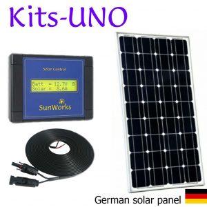 Kits de panneaux solaire. Premium