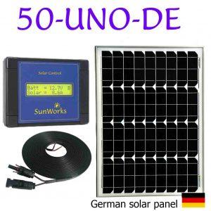 kit de panneaux solaires pour camping-cars