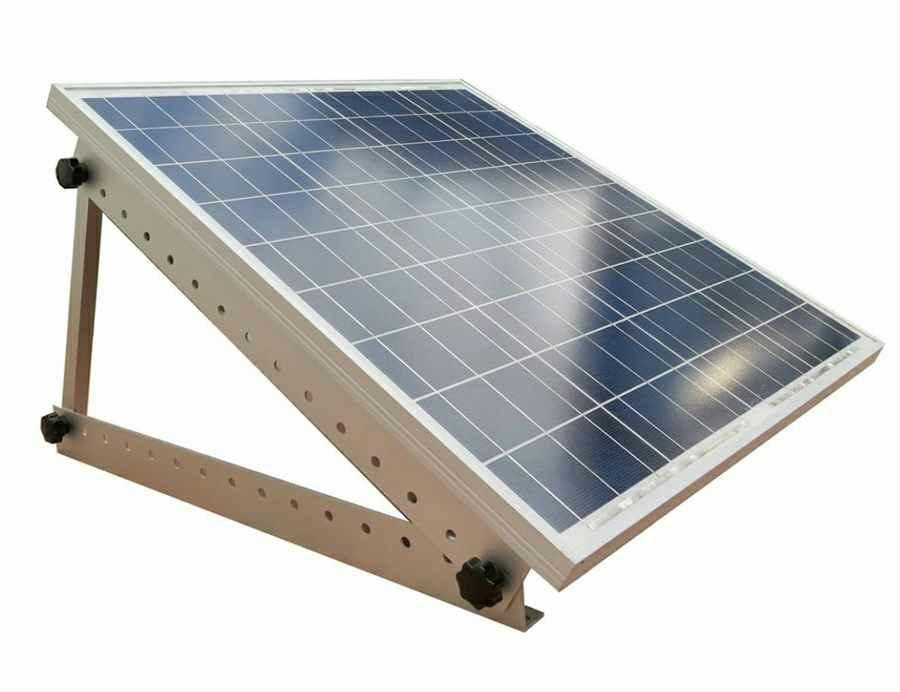 support de montage r glable pour panneau solaire sunworks. Black Bedroom Furniture Sets. Home Design Ideas