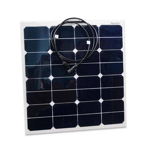 panneau solaire flexible 50 watts sunworks. Black Bedroom Furniture Sets. Home Design Ideas