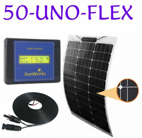 semi-flexible kit de panneau solaire