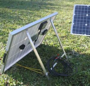 Panneau solaire portable de camping car