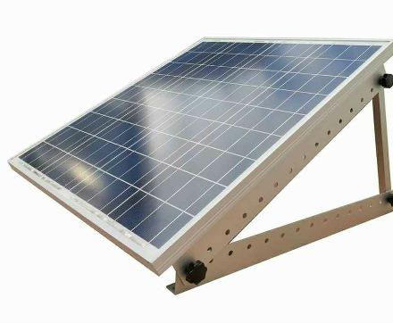 support de montage r glable pour panneau solaire grande. Black Bedroom Furniture Sets. Home Design Ideas