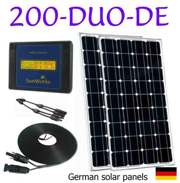 kit solaire pour péniches