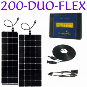 200 watt semi flexible