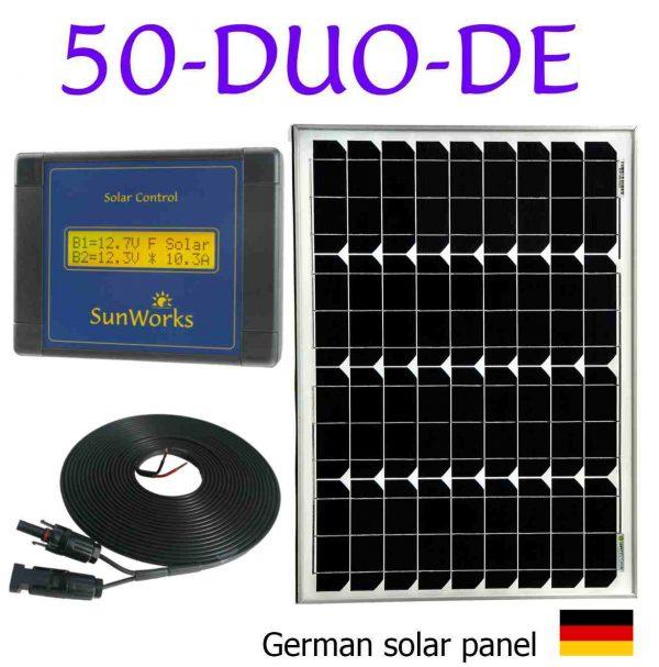 panneau solaire pour camping-car