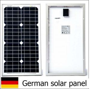 Panneau solaire pour un bateau