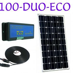 kits de panneaux solaires à double batterie