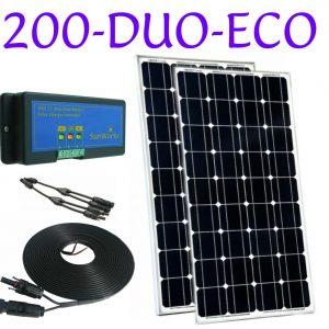 panneau solaire à double batterie