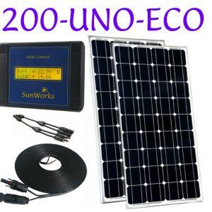 kit de panneaux solaire camping-car