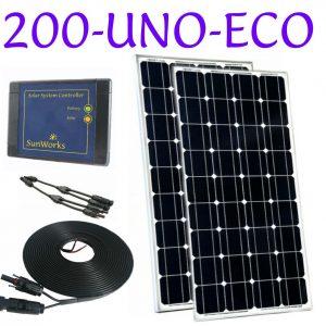 kit de panneaux solaires pour camping-car