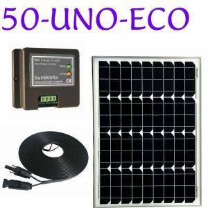 kit de panneaux solaires pour un camping-car