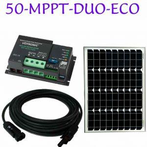 motorhome mppt solar panel kit