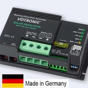 Votronic MPPT. Régulateurs de charge. Deux batteries