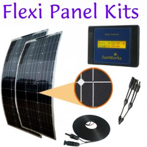 Kits de panneaux solaires flexibles