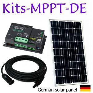 Kits de panneaux solaires. Premium. MPPT. Deux batteries