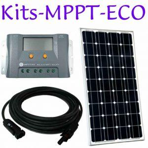 Kits de panneaux solaires. MPPT