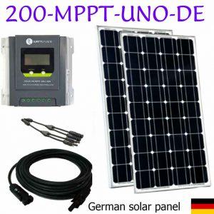 kit des panneaux solaires MPPT pour