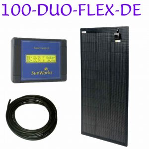 kit de panneau solaire flexible